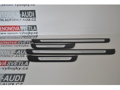 Prahové ozdobné lišty QUATTRO pro Audi A7 (4G)