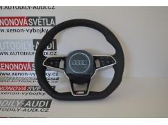 Volant Audi s-line (nový model) zkosený, řazení F1