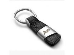 Audi přívěsek na klíče (kůže/kov) znak A6