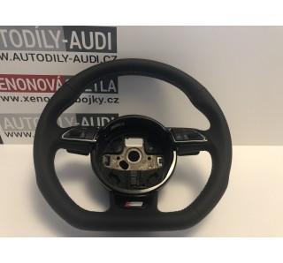 https://www.autodily-audi.cz/1603-thickbox/volant-s-line-facelift-skoseny-razeni-f1.jpg