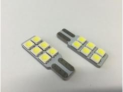 LED žárovka, patice T10, 6SMD LED