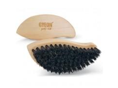 Gyeon Q2M LeatherBrush kartáč na kůžiAuto Finesse Upholstery Brush premiový kartáč