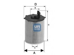 Olejový filtr UFI 25.105.00