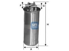 Palivový filtr UFI 2400100