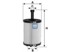 Olejový filtr UFI 2502300